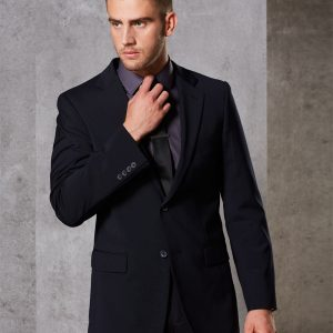 M9100 Men's Wool Blend Stretch Two Buttons Jacket