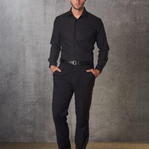 M9340 Men's Polyviscose Flexi Waist Stretch Pants 2     Promotion Wear