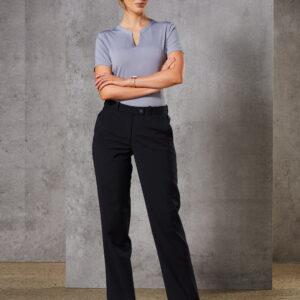 M9400 Women's Wool Blend Stretch Slim Leg Flexi Waist Pants 3     Promotion Wear