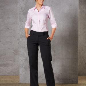M9410 Women's Wool Blend Stretch Low Rise Pants