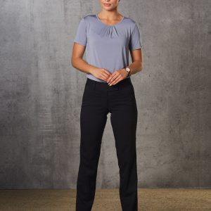 M9420 Women's Poly/Viscose Stretch Low Rise Pants 4 | | Promotion Wear
