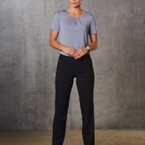 M9420 Women's Poly/Viscose Stretch Low Rise Pants 4     Promotion Wear