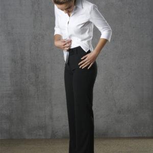 M9430 Women's Poly/Viscose Stretch Stripe Low Rise Pants 5     Promotion Wear
