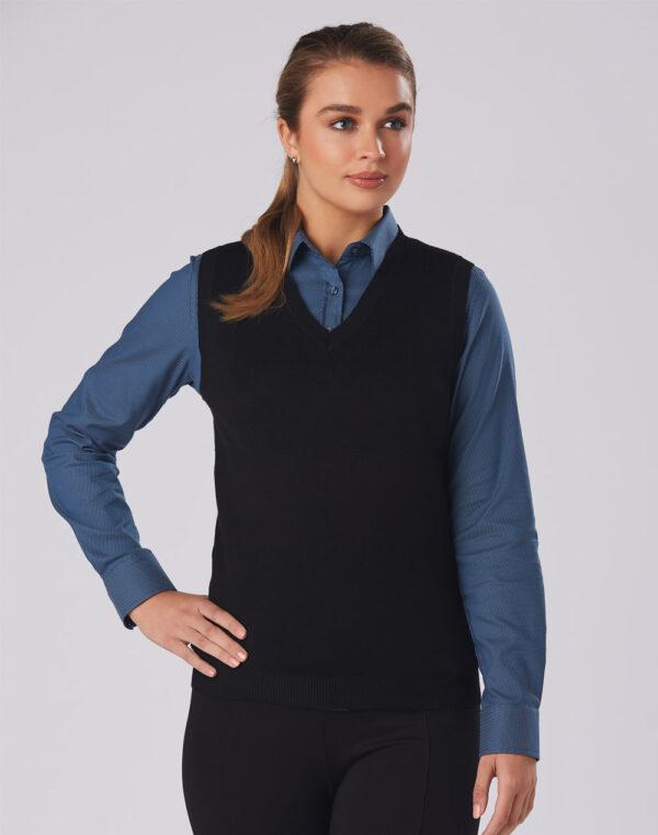 M9601 Women's V-Neck Vest