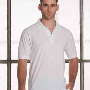 PS22 Men's Tight Pique Knit Short Sleeve Polo
