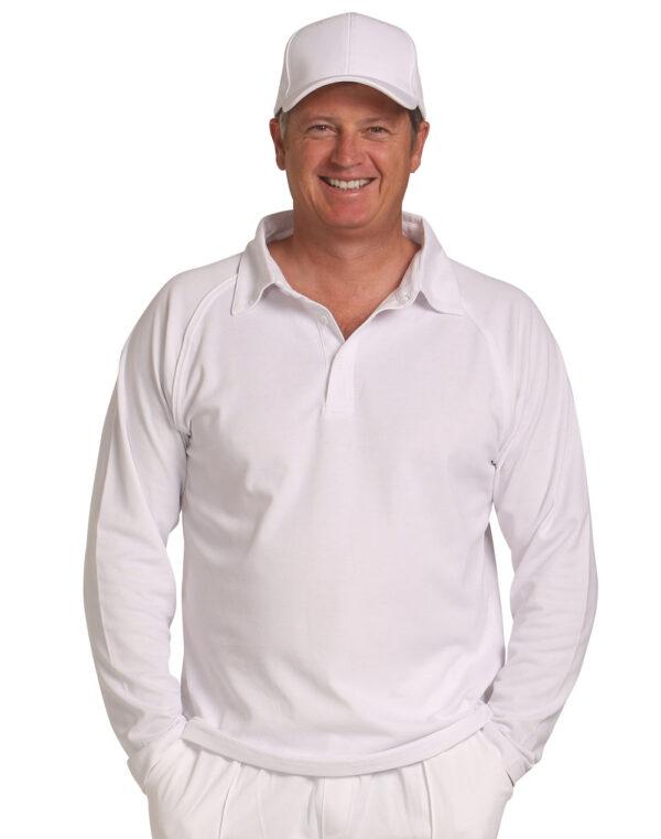 PS29L CRICKET POLO Long Sleeve Men's 1 | | Promotion Wear