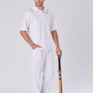 PS29 Mens TrueDry® Mesh Knit Short Sleeve Cricket Polo