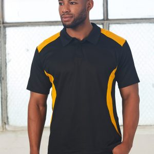 PS31 Mens TrueDry® Contrast Short Sleeve Polo