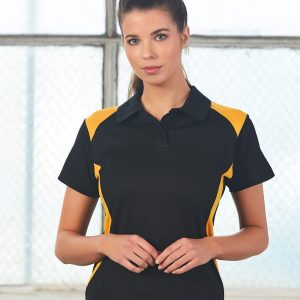 PS32A Ladies TrueDry® Contrast Short Sleeve Polo