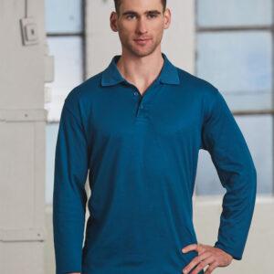 PS35 Mens TrueDry® Long Sleeve Polo