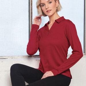 PS36B Ladies TrueDry® Long Sleeve Polo