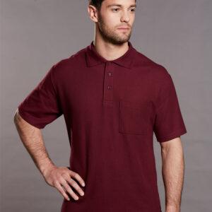 PS41 Unisex Poly/Cotton Pique Pocket Short Sleeve Polo