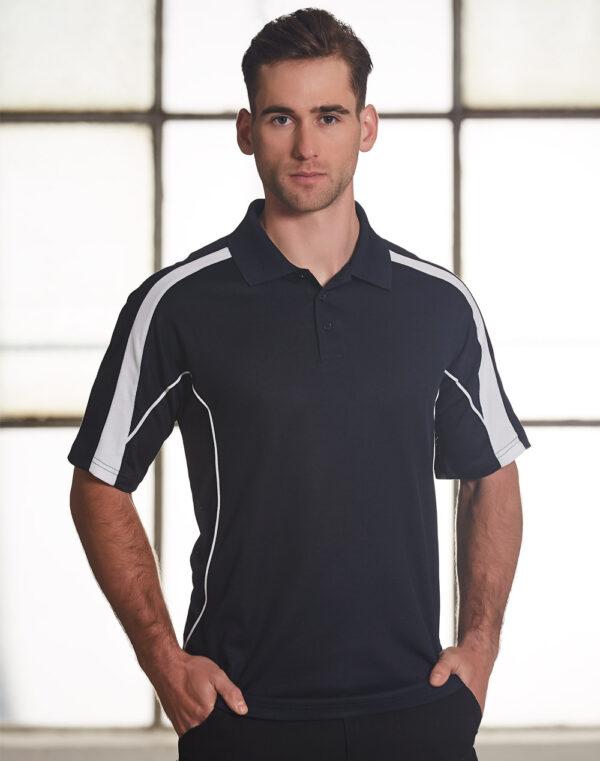 PS53 Mens TrueDry® Fashion Short Sleeve Polo