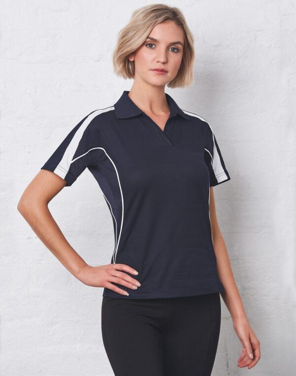 PS54Ladies TrueDry® Fashion Short Sleeve Polo