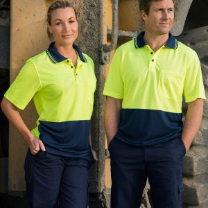 SW01CD High Visibility CoolDry Short Sleeve Polo 1 | | Promotion Wear
