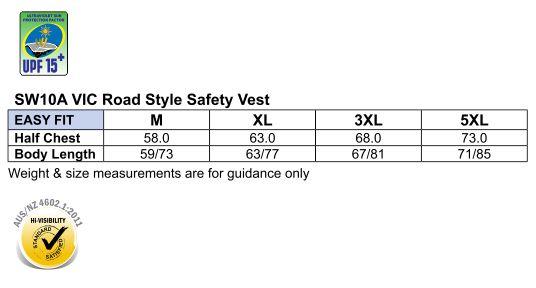 SW10A Hi-Vis SAFETY VEST