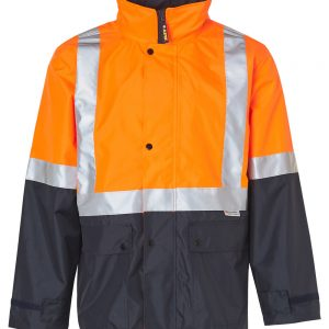 SW18A HI-VIS SAFETY JACKET WITH MESH LINING & 3M TAPES 2     Promotion Wear