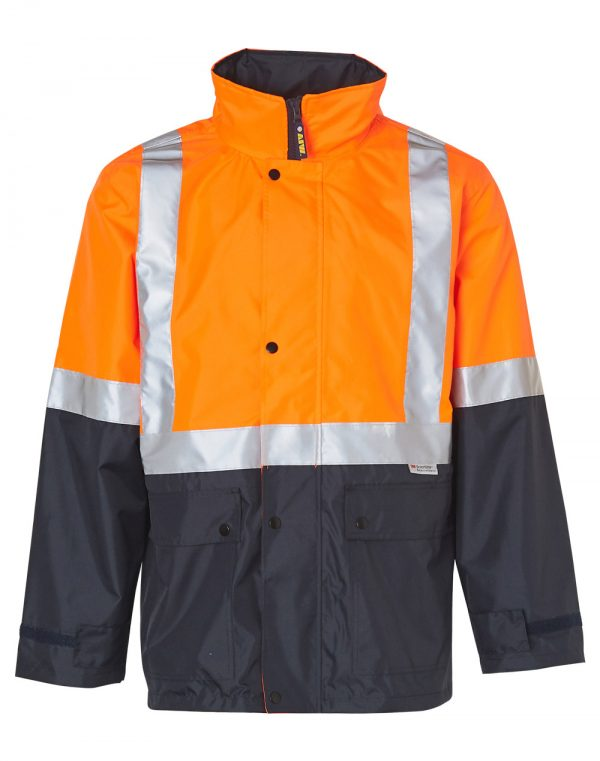 SW18A HI-VIS SAFETY JACKET WITH MESH LINING & 3M TAPES 1     Promotion Wear