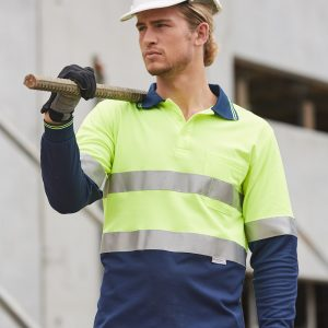 SW21A LONG SLEEVE SAFETY POLO 1 | | Promotion Wear