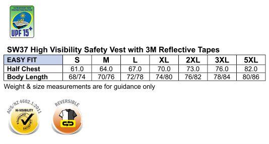 SW37 Hi-Vis SAFETY VEST