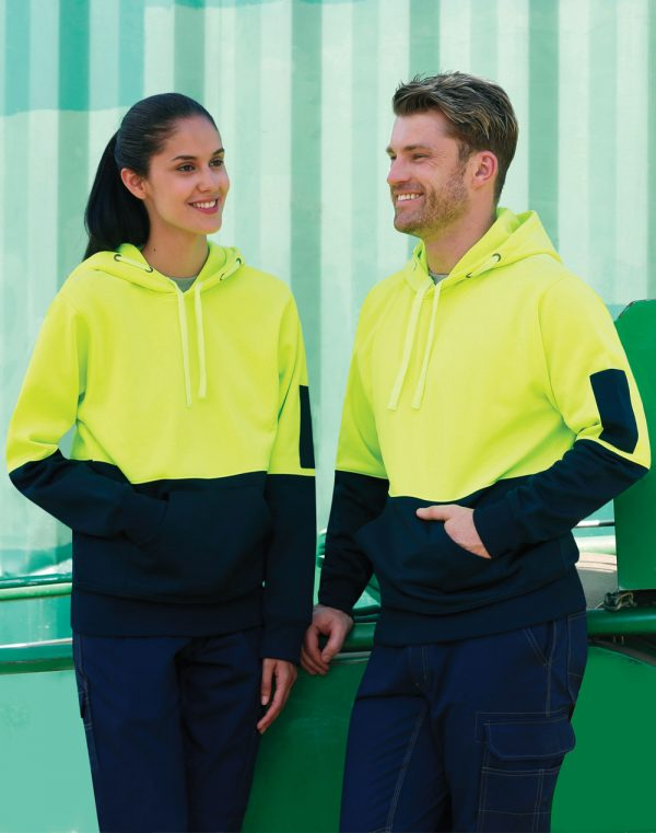 SW38 HI-VIS TWO TONE FLEECY HOODIE UNISEX 1 | | Promotion Wear