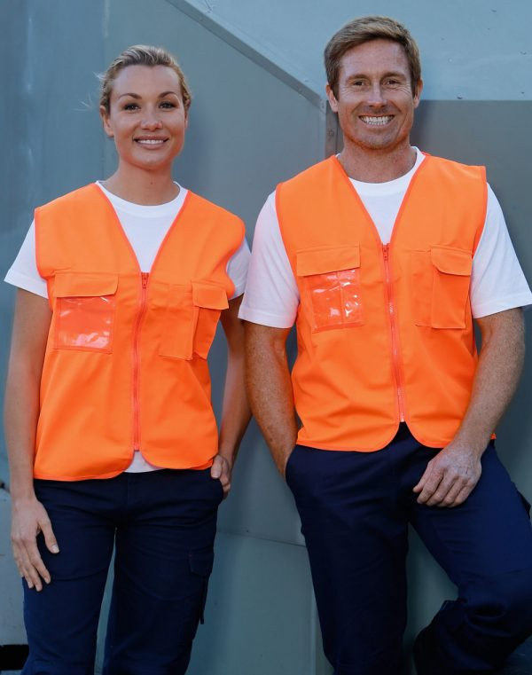 SW41 Hi-Vis SAFETY VEST with ID POCKET