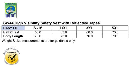 SW44 Hi-Vis SAFETY VEST