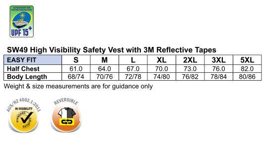 SW49 Hi-Vis SAFETY VEST