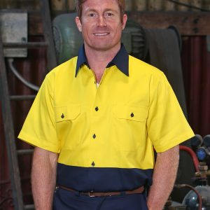 SW53 COTTON DRILL SAFETY SHIRT