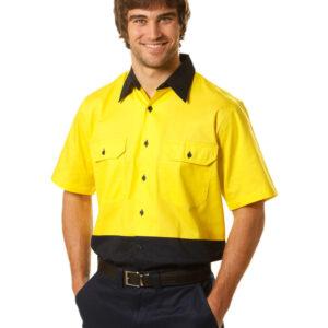 SW57 SHORT SLEEVE SAFETY SHIRT 2     Promotion Wear