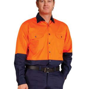 SW58 LONG SLEEVE SAFETY SHIRT 3     Promotion Wear