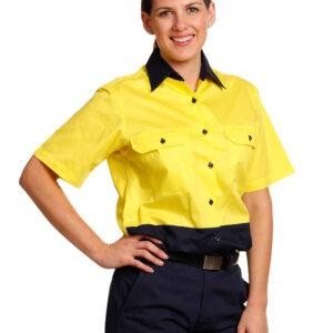 SW63 WOMEN'S SHORT SLEEVE SAFETY SHIRT 5     Promotion Wear