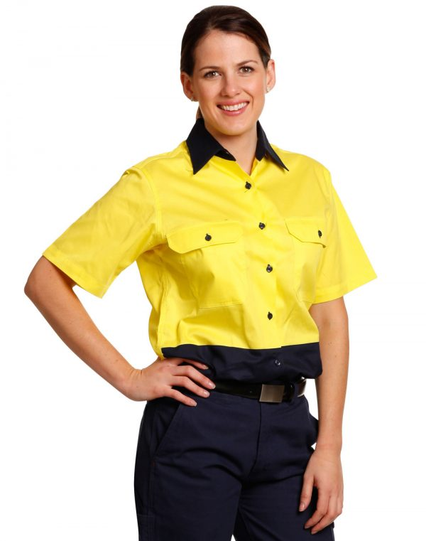 SW63 WOMEN'S SHORT SLEEVE SAFETY SHIRT 1 | | Promotion Wear