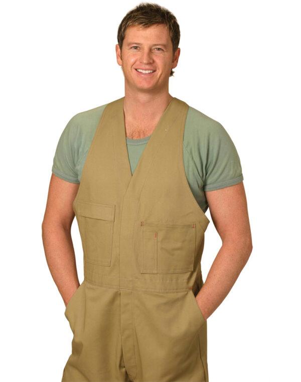 WA01 Men's Action Back Overall-Regular 1     Promotion Wear