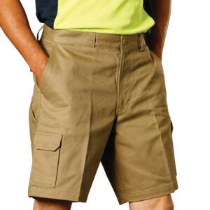 WP06 MEN'S HEAVY COTTON DRILL CARGO SHORTS 1     Promotion Wear