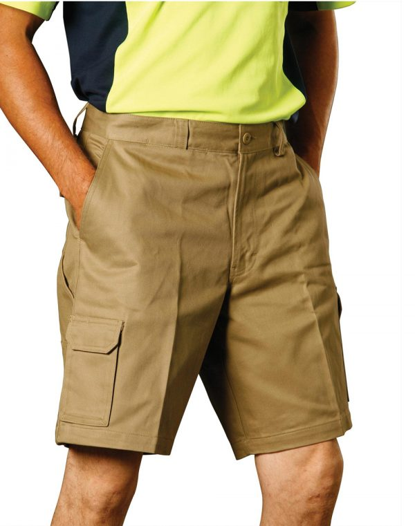 WP06 MEN'S HEAVY COTTON DRILL CARGO SHORTS 1 | | Promotion Wear