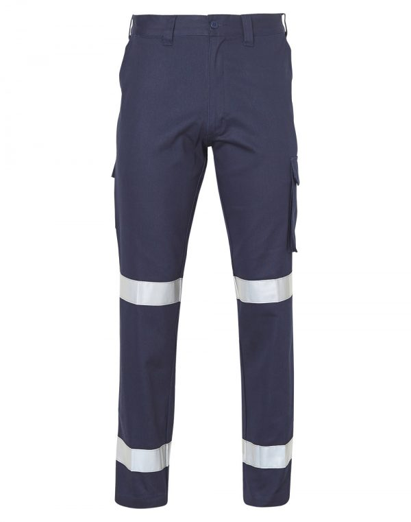 WP13HV PRE-SHRUNK DRILL PANTS WITH 3M TAPES Long Leg 1 | | Promotion Wear