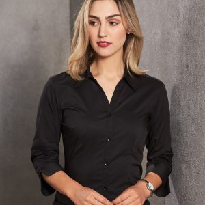 BS07Q Women's Teflon Executive 3/4 Sleeve Shirt 2 | | Promotion Wear