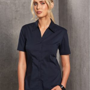 BS07S Executive Lady Short Sleeve 4 | | Promotion Wear