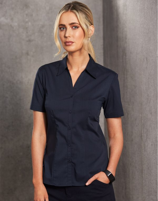 BS07S Executive Lady Short Sleeve 1 | | Promotion Wear