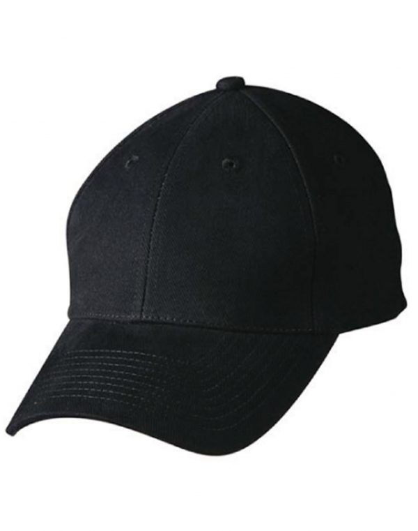 CH35 Heavy Brushed Cotton Cap With Buckle