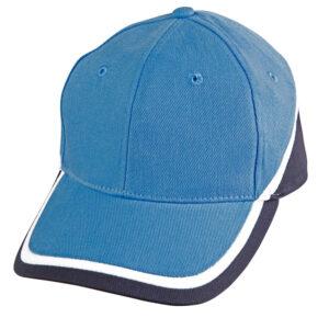 CH38 TRI CONTRAST COLOURS CAP