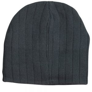 CH64 Cable Knit Beanie With Fleece Head Band