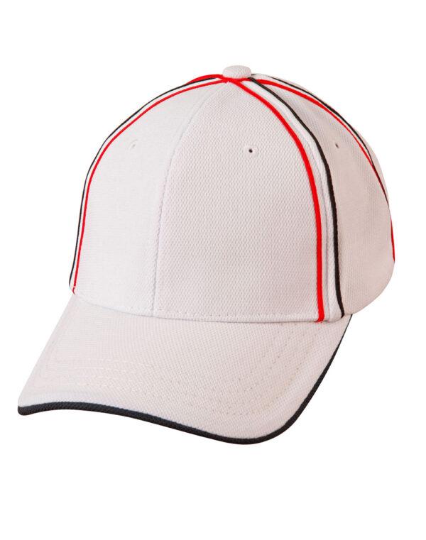 CH76 Tri-Colour Pique Mesh Cap 1     Promotion Wear