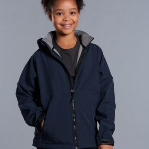 JK33K ASPEN Softshell Hood Jacket Kids'
