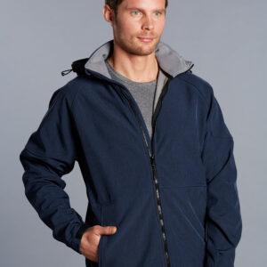 JK33 ASPEN Softshell Hood Jacket Men's