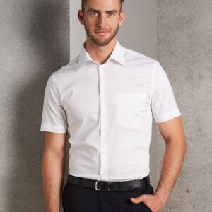 M7020S Men's Cotton/Poly Stretch Short Sleeve Shirt 2 | | Promotion Wear