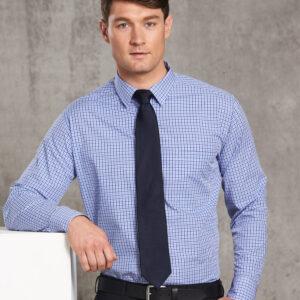 M7320L Men's Multi-Tone Check Long Sleeve Shirt 3     Promotion Wear