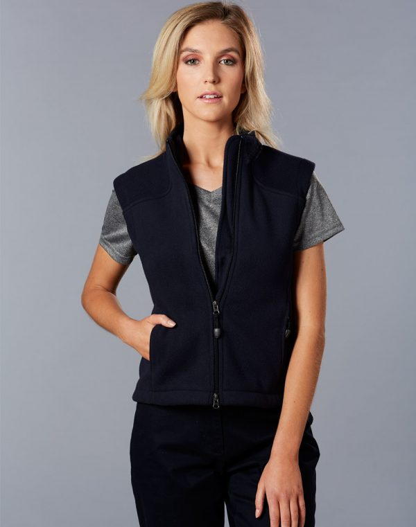 PF10 Diamond Fleece Vest Ladies'