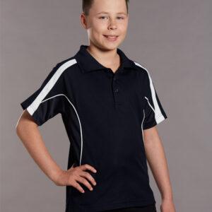 PS53K KidsTrueDry® Fashion Short Sleeve Polo
